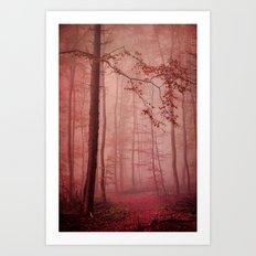 Rose Red's Forest Art Print