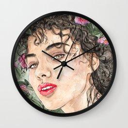 Flower Rae Wall Clock