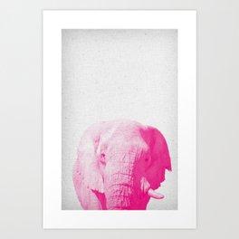 Elephant 02 Art Print