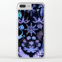 Haeckel's Sea of Darkness Clear iPhone Case
