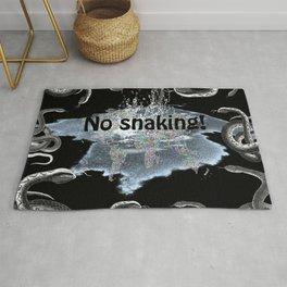 No snaking! Rug