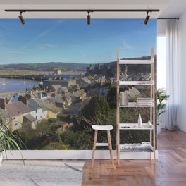 Spring Day At Conwy Wall Mural