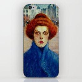 """Théophile Steinlen """"Cleo"""" iPhone Skin"""