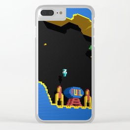 Inside Scramble Clear iPhone Case