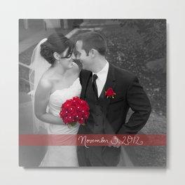 Custom Wedding Decor Metal Print