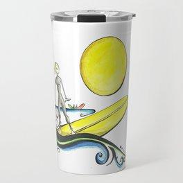 Girl Surfer Travel Mug