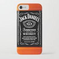 jack daniels iPhone & iPod Cases featuring JACK DANIELS by Bilqis