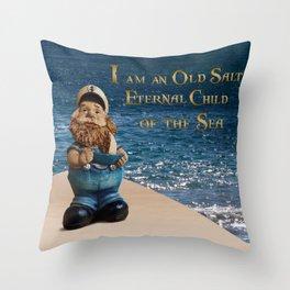 Old Salt - Sailor Throw Pillow
