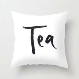 Tea 2 Throw Pillow