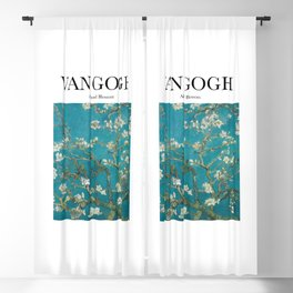 Van Gogh - Almond Blossom Blackout Curtain