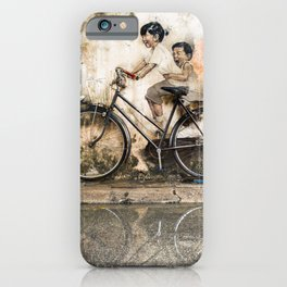 Reflections of Penang iPhone Case