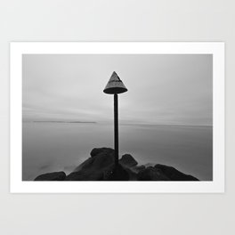 Endless mist Art Print