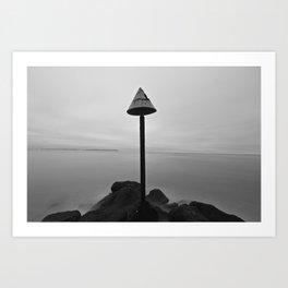 Endless mist Art Print