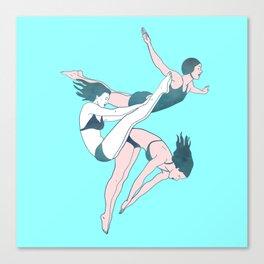 Take a Dive Canvas Print
