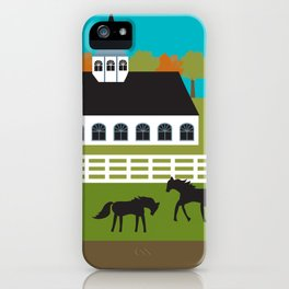 Lexington, Kentucky - Skyline Illustration by Loose Petals iPhone Case