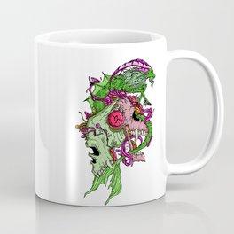 Capricorn Skull Zodiac Sign For December and January Birth Day Gift Coffee Mug