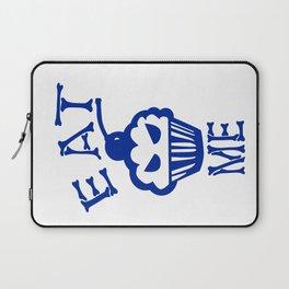 Eat Me (Blue Version) Laptop Sleeve
