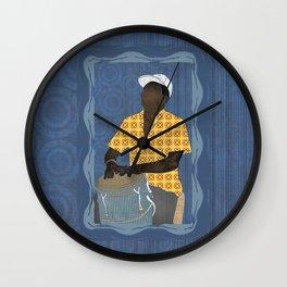 Conguero Wall Clock