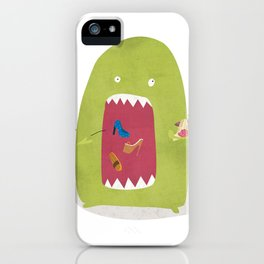 Shoe Monster iPhone Case
