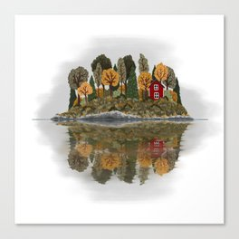 Swedish Summerhouse (Day) Canvas Print