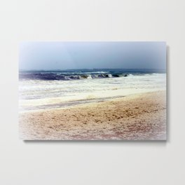 Rough Seas & Sea Foam Metal Print