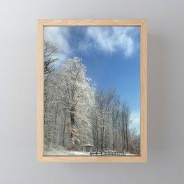 Frosty Winter Morning Framed Mini Art Print