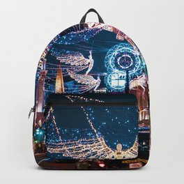 London Christmas Lights (Color) Backpack