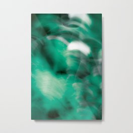 Green so Green Metal Print