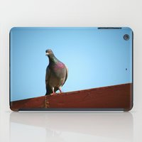 pigeon iPad Cases featuring Pigeon by Lon Casler Bixby - Neoichi
