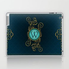 Letter W Laptop & iPad Skin