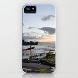 North Shore Sunset iPhone Case
