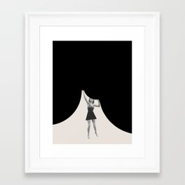 """I'm Holding Up"" Framed Art Print"