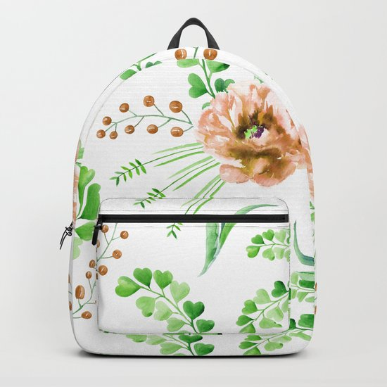 Forest Meadow Love Backpack