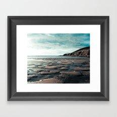 Saunton Sands North Devon Framed Art Print