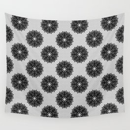 Lace pattern Wall Tapestry