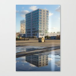 The Grey Tower Canvas Print
