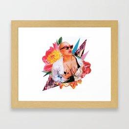 BLOOM 30 Framed Art Print