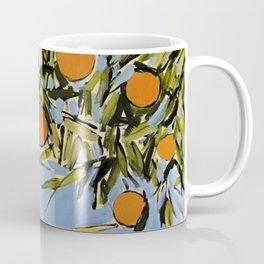 Orange Grove (Blue) Coffee Mug