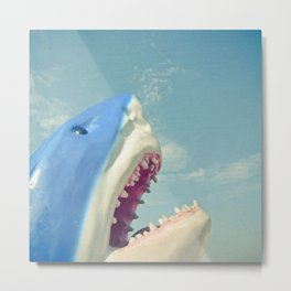 Shark! Metal Print