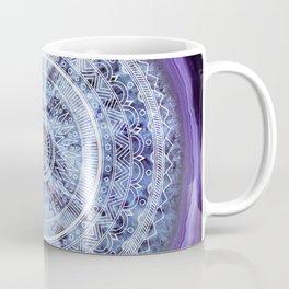 Mandala Agate Coffee Mug