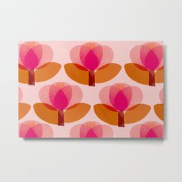 Abstraction_FLORAL_01 Metal Print