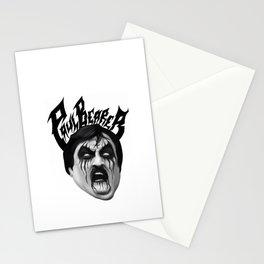 Black Metal Paul Bearer Stationery Cards