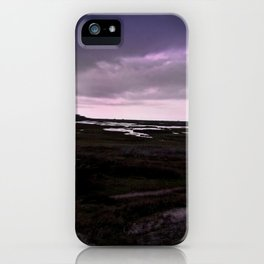 Ultraviolet Day iPhone Case