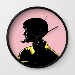 Katy Portrait Art - Inspired by Music Video - This Is How We Do  Wall Clock