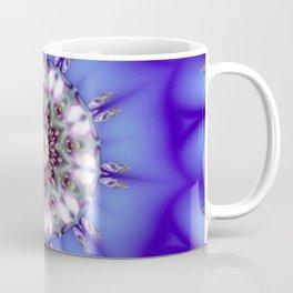 Romantic Blue Kaleidoscope Coffee Mug