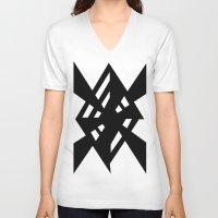 random V-neck T-shirts featuring Random by Enver Yigit