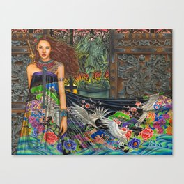 Lament For The Living Canvas Print