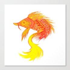 Fire fish Canvas Print