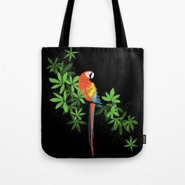 Tropical Parrot Summer Tote Bag