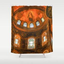 Hagia Sophia Istanbul Shower Curtain